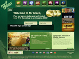 Mr Green Online Casino Screenshot